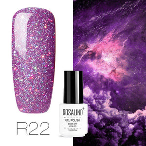 ROSALIND Gel Varnish Semi Permanent Nail Polish