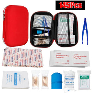 Portable First Emergency Aid Bag - 145/261/304 Pc Configurations