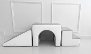 Archway Step & Slide White & Grey - MADE IN U.K