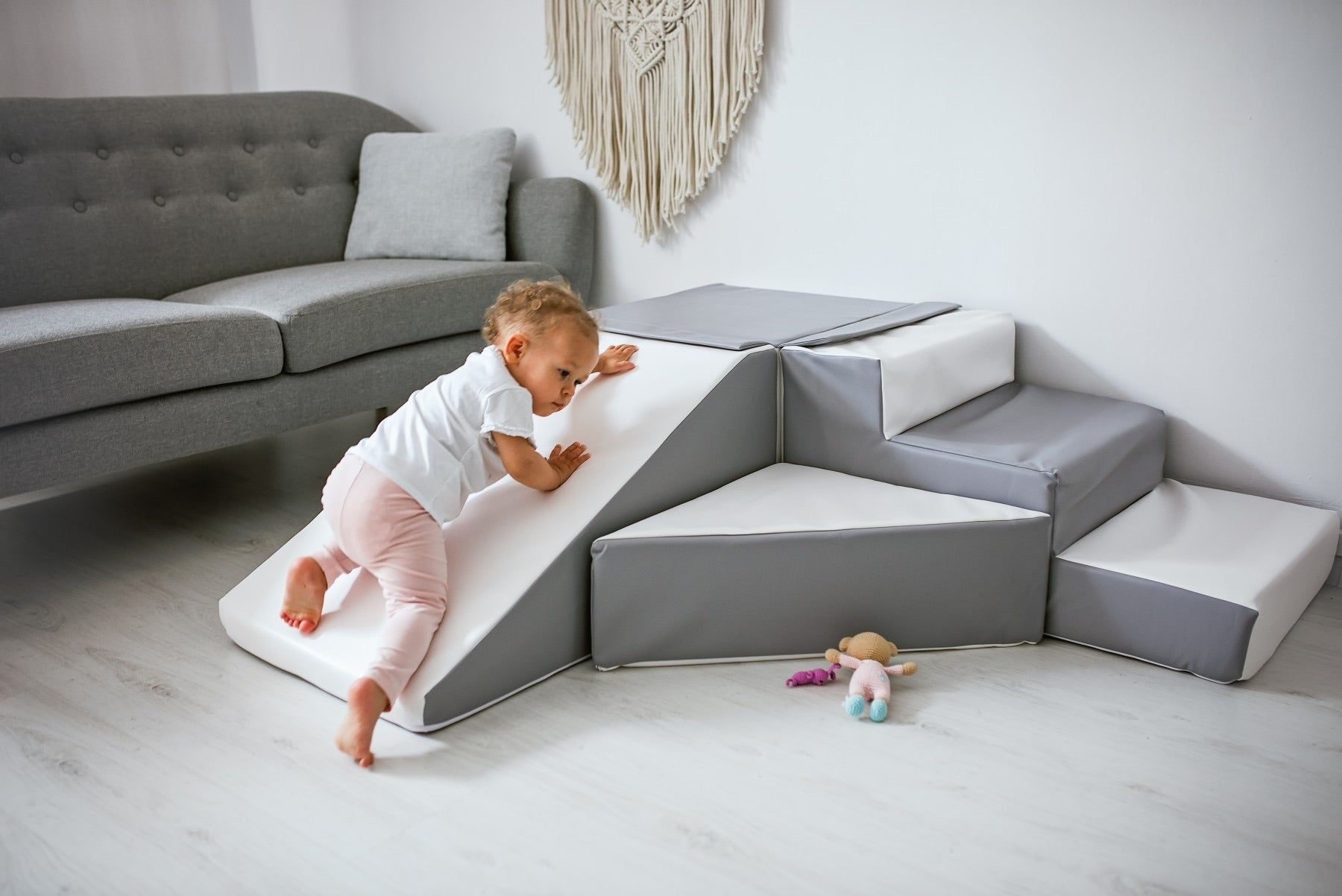 Soft Play Step & Slide Set - - MADE IN EUROPE