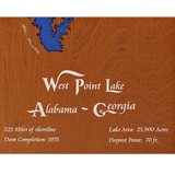 West Point Lake, Alabama & Georgia