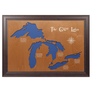 The Great Lakes, New York, Pennsylvania, Ohio, Indiana, Michigan, Illinois, Wisconsin, and Minnesota