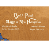 Balch Pond, Maine & New Hampshire