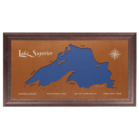 Lake Superior, Canada, Minnesota, Wisconsin, and Michigan