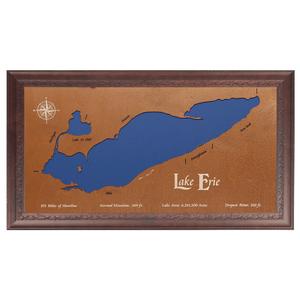 Lake Erie, Canada, Michigan, Ohio, Pennsylvania, and New York