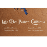 Lake Don Pedro, California