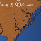 Delaware Bay, Delaware and New Jersey