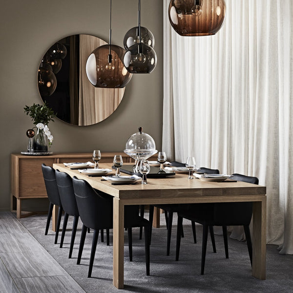 Halo Round Mirror - Zuster Furniture