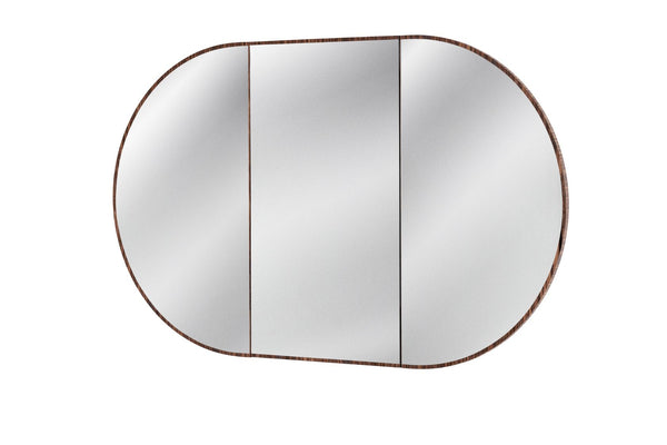 ISSY Halo Triple Mirror with Shaving Cabinet