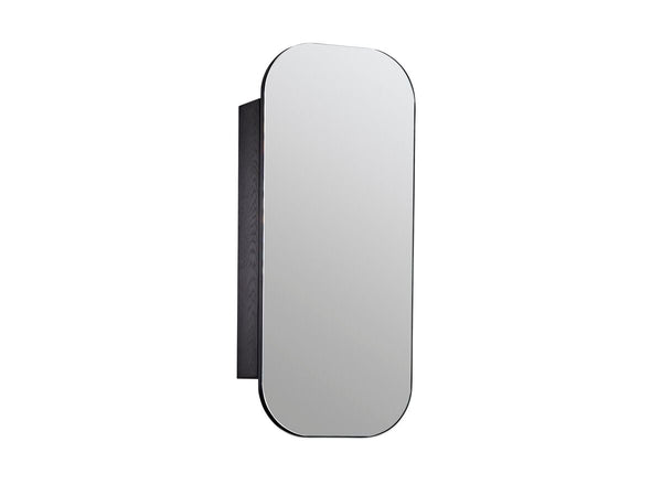ISSY Z1 Ballerina Oval Mirror with Shaving Cabinet 500x1000 - Zuster Furniture