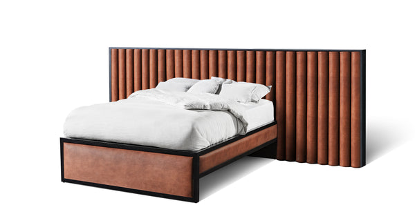 Cloud Scalloped Extended Bed
