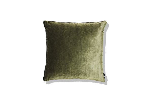Cushion Olive Green Velvet 500 - SHOP NOW - Zuster Furniture
