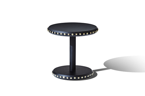 Embellish Studded Lamp Table - SHOP NOW - Zuster Furniture