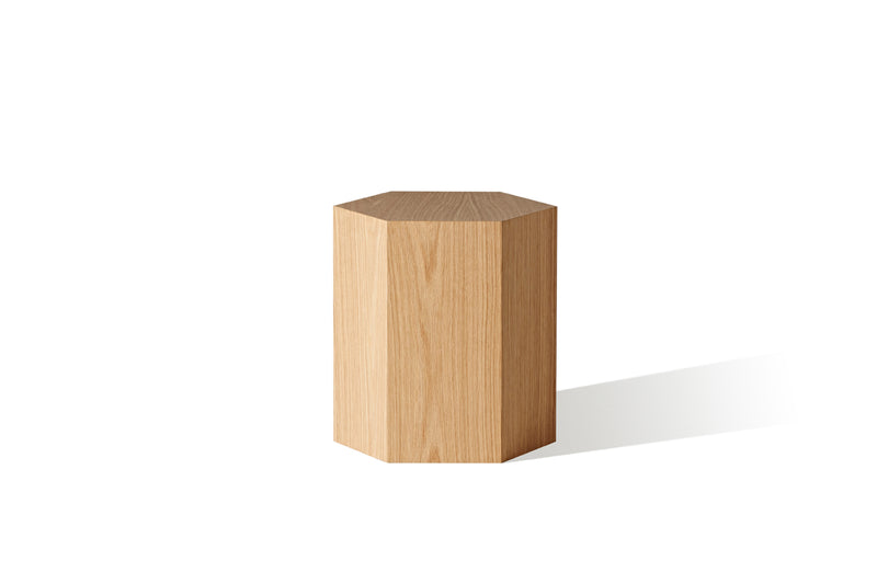 Halo Hexagon Lamp Table - Zuster Furniture