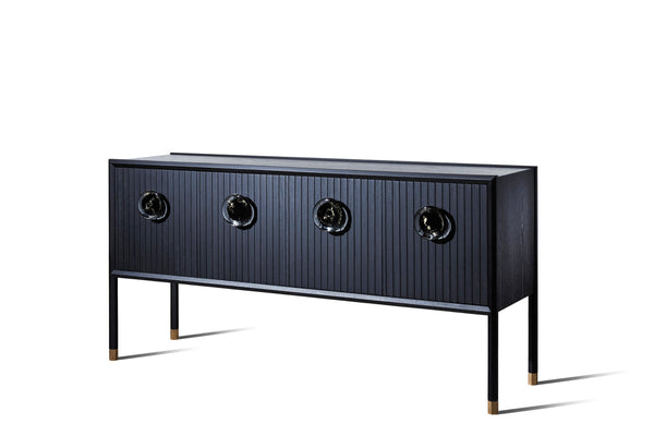 Halo Buffet with Glass handles - Zuster Furniture