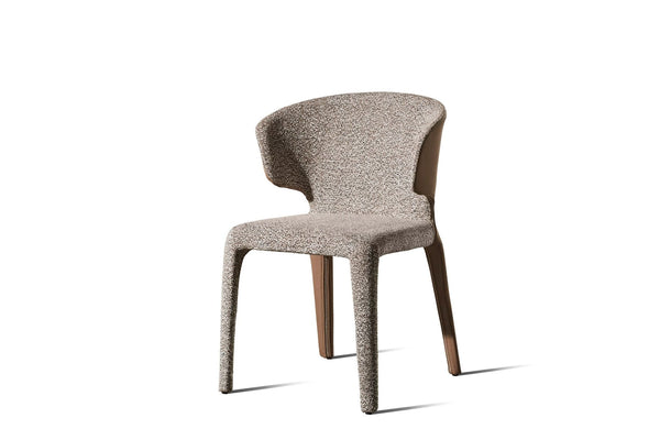 Husk Two Tone Fabric Chair