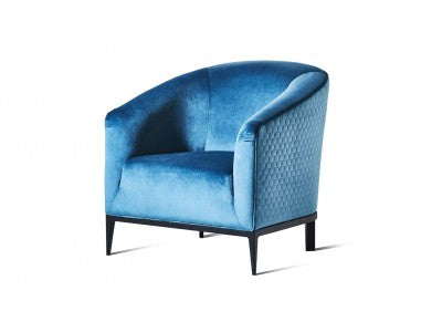 Teal Blue Honeycomb Stitched - Zuster Furniture