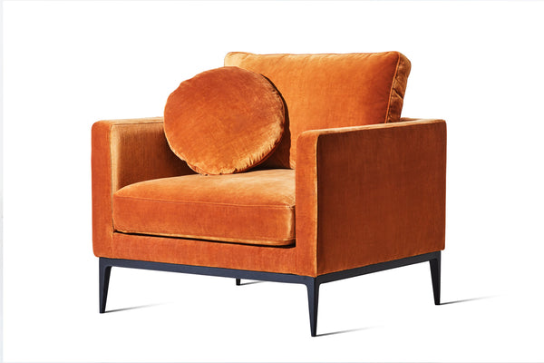 Zinnia Gold Velvet - Zuster Furniture
