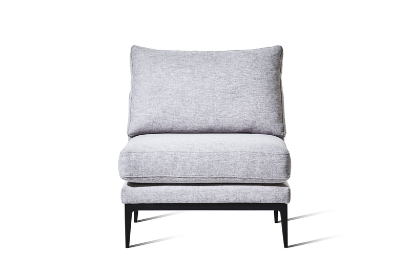 Light Grey Woven Fabric - Zuster Furniture