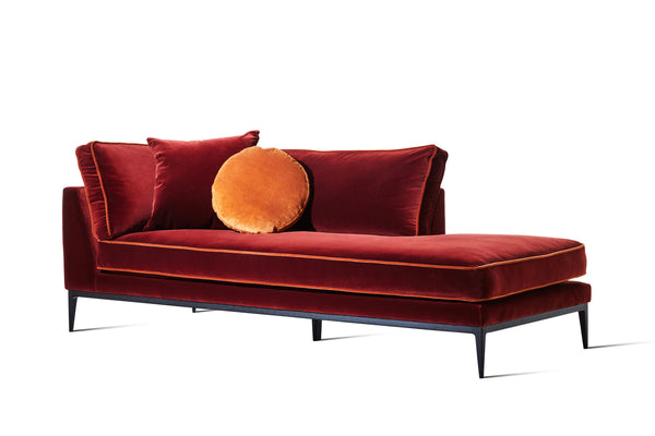 Helenium Rust Velvet - Zuster Furniture