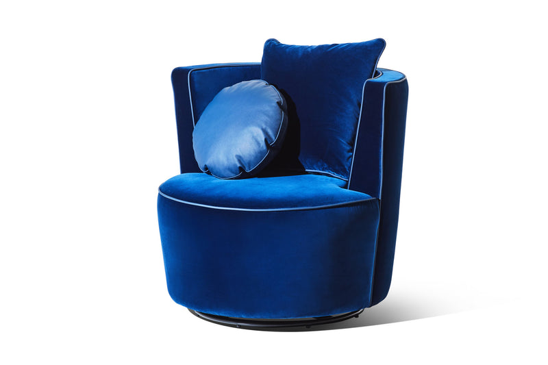 Empire Blue Velvet - Zuster Furniture