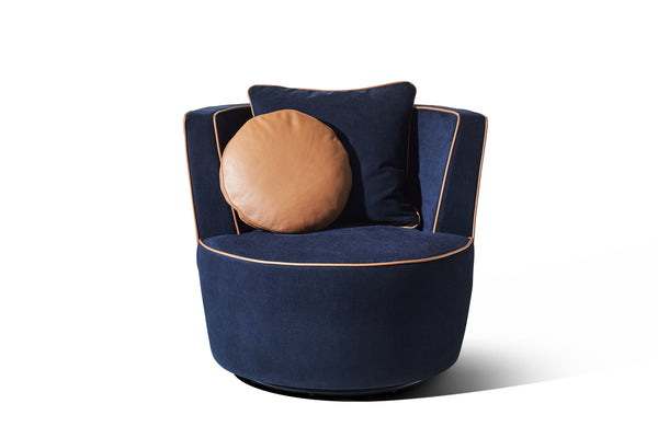 Navy Fabric - Zuster Furniture
