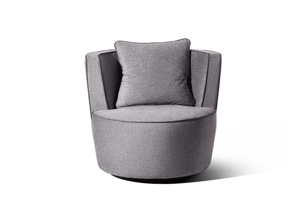 Light Grey Velvet Feel - DISCONTINUED - Zuster Furniture