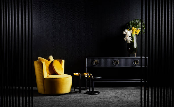 Mustard Velvet - Zuster Furniture