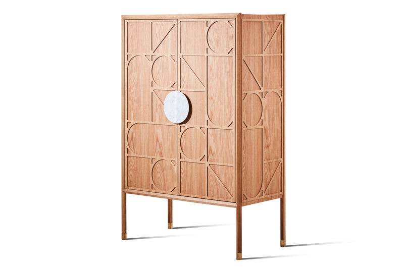 Tapestry Storage Cabinet - Zuster Furniture