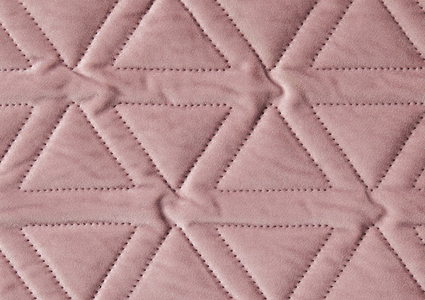 Dusty Rose Stitched Velvet - Zuster Furniture