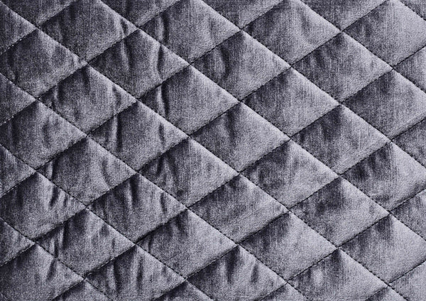 Charcoal Diamond Stitch - Zuster Furniture