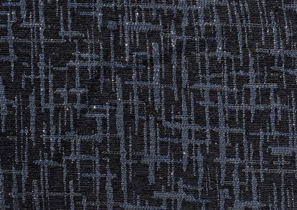 Navy Grey Shimmer Weave - Zuster Furniture