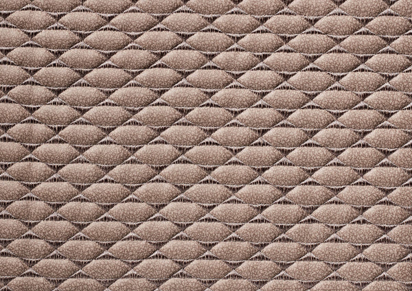 Quilted Pony Latte Suede - DISCONTINUED - Zuster Furniture