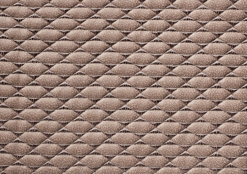 Quilted Pony Latte Suede - Zuster Furniture