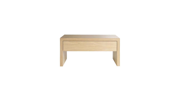 April Bedside Table With Drawer - Zuster Furniture