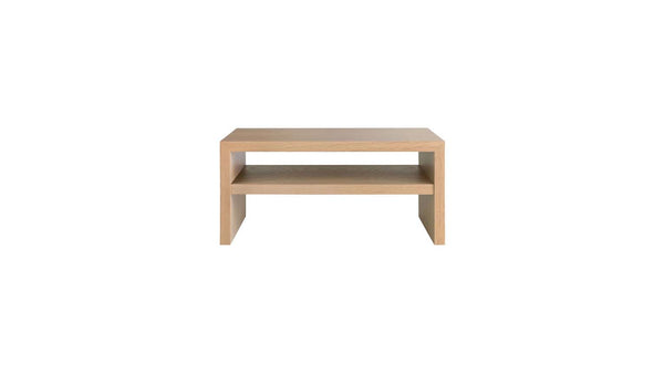 April Bedside Table With Shelf - Zuster Furniture