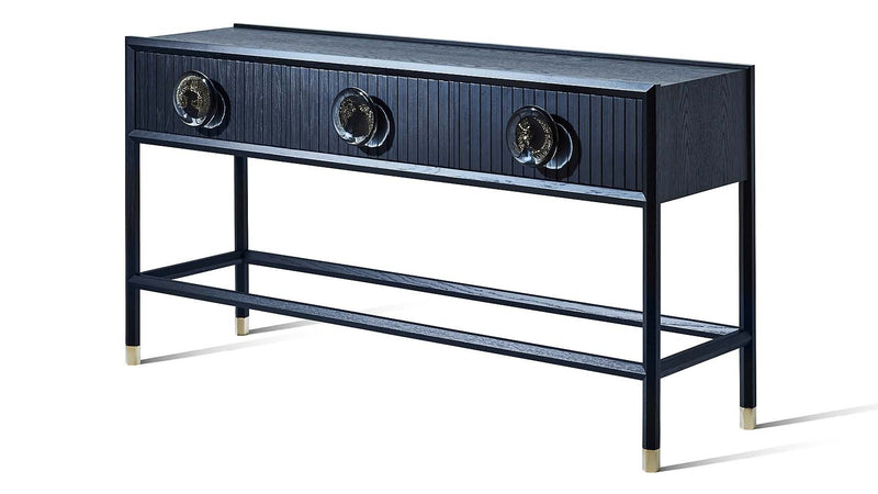 Halo Console with Glass handles - Zuster Furniture