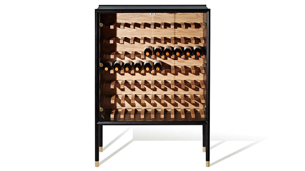 Halo Wine Storage Cabinet - Zuster Furniture