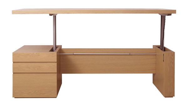 Jade Desk With Mechanical Uplift - Zuster Furniture