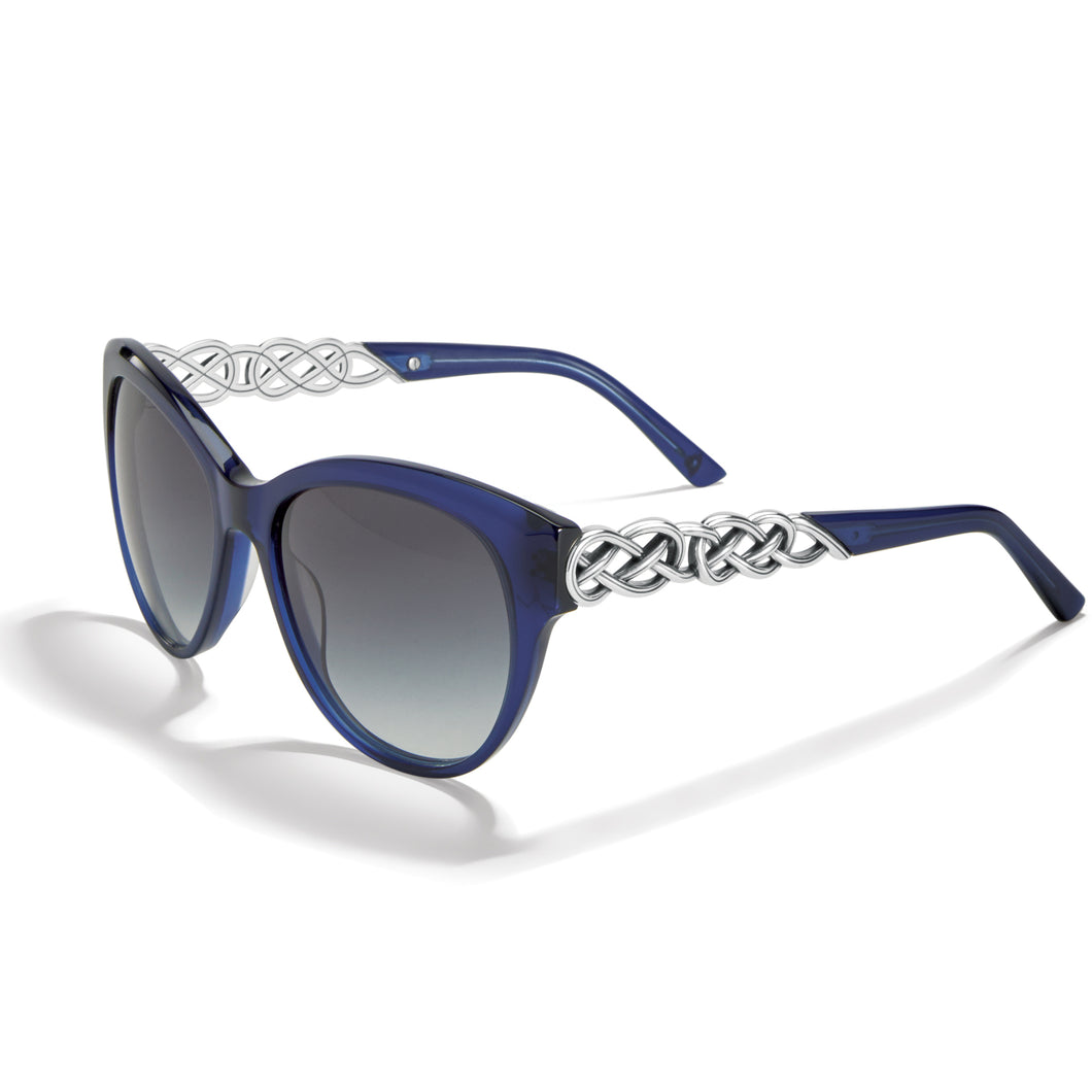 Interlok Braid Blue Sunglasses