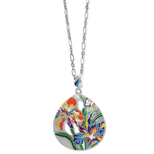Iris Bloom Convertible Necklace