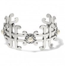 Load image into Gallery viewer, Taos Pearl Cross Cuff