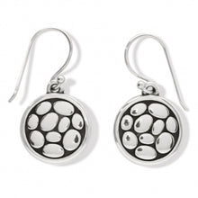 Load image into Gallery viewer, Pebble Round Reversible French Wire Earrings