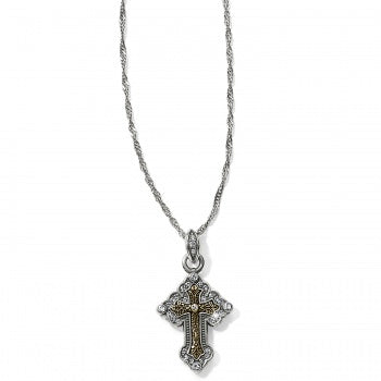 Greek Petite Cross Necklace