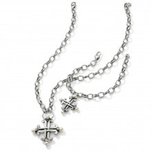 Load image into Gallery viewer, Taos Pearl Cross Bracelet