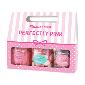 Candy Club Perfectly Pink 3 Pk