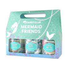 Load image into Gallery viewer, Candy Club Mermaid Friends 3 Pk