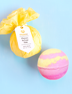 Musee Flowers In Your Hair Bath Bomb