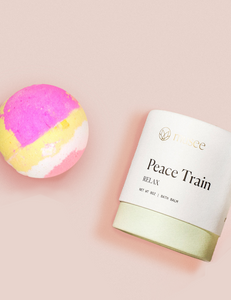 Musee Therapy Bath Bomb-Peace Train