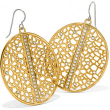 Load image into Gallery viewer, Fiji Sparkle French Wire Earrings Gold